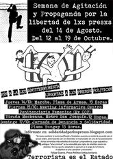 Solidaridad presxs chilenxs, 12 al 19 octubre